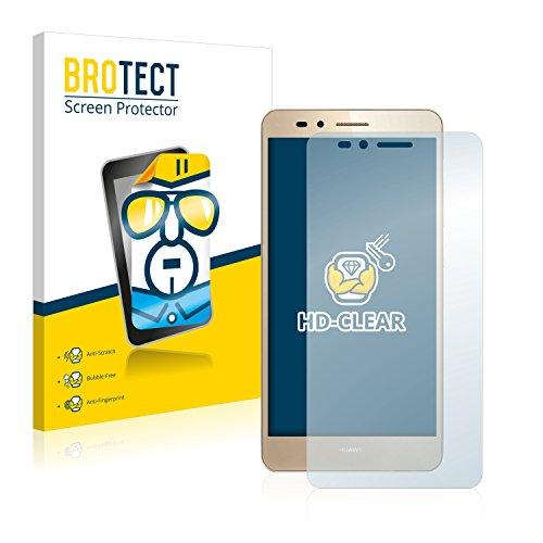 BROTECT Schutzfolie kompatibel mit Huawei GR5 (2 Stück) klare Bildschirmschutz-Folie
