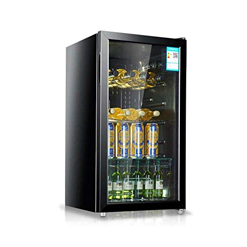 Multifunctional 98 Liter Wine Cooler, Large Area Constant Temperature, Intelligent Touch Operation, Air-Cooled and Frost-Free