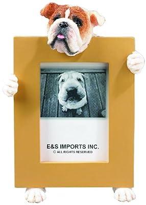 Bulldog (English) 2 1/2'' x 3 1/2'' Photo Frame from E&S Imports, Inc