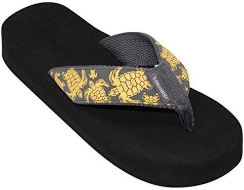 Tidewater Women's Yellow Turtle Sandals