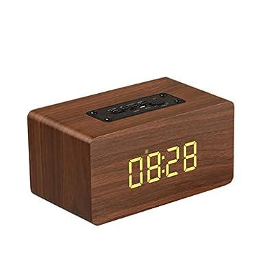 【Diseño simple de alta calidad】: el reloj está hecho de material de alta calidad que es suave al tacto. El reloj es bastante simple, por lo que no es fácil de romper. 【Timbre extra fuerte】 Sonido de alarma extra fuerte, ideal para personas que duerme...