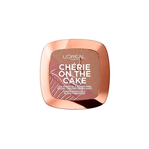 L'Oréal Paris L'Oréal Paris Wake Up & Glow Chérie On The Cake, polvere abbronzante e blush Duo Cherry Crush