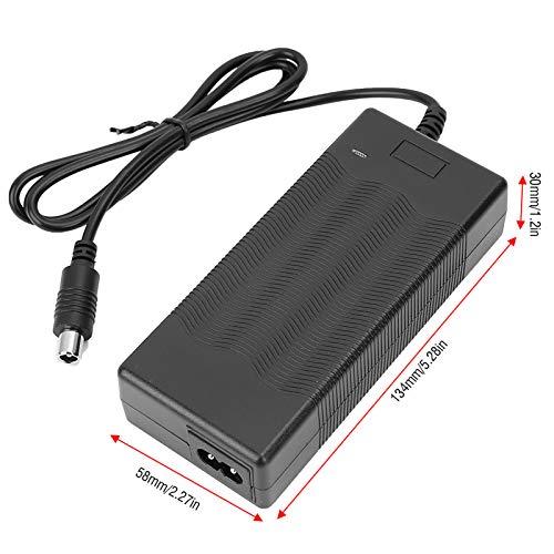 YOIM Cargador de Scooter para Xiaomi, Cargador de batería de Carga rápida para Scooter Ninebot S1 / S2 / S4 para Bicicleta de Equilibrio(American Standard (25A, 220V·), 12)