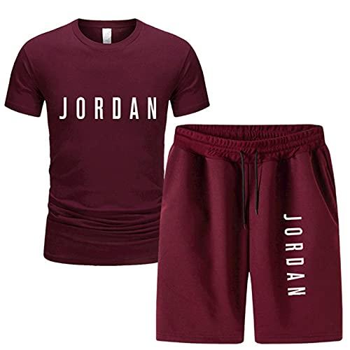 SJYMKYC Camiseta De Baloncesto Y Pantalones Cortos para Correr, Conjunto De 2...