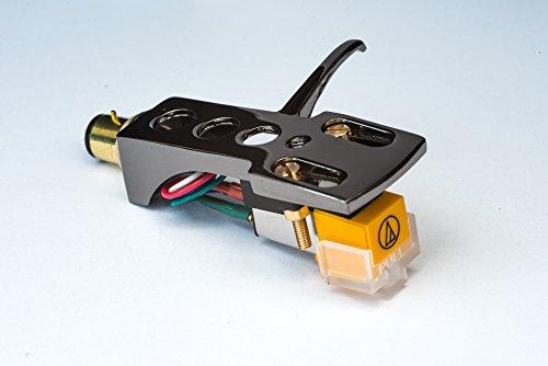 Spiegel Titan beschichtet Schale, Halter mit AT Tonabnehmer, Nadel für Optonica, Sharp STY158, RP105H, RP2727H, RP3500, RP3636, RP5200H