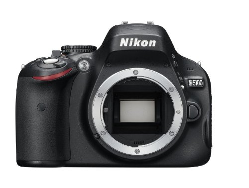 Nikon D5100 16.2MP CMOS Digital SLR Camera with 3-Inch Vari-Angle LCD Monitor (Body Only)