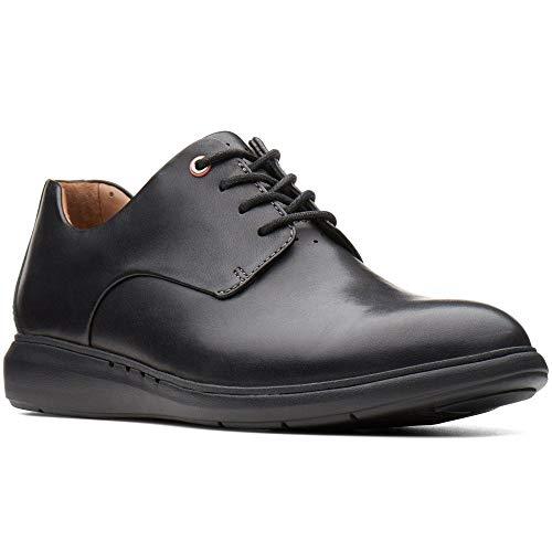 Clarks Un Voyage Plain Mens Wide Fit Formal Shoes 7 UK/ 41 EU Schwarz