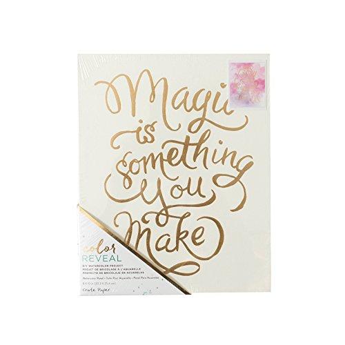 American Crafts 375865 Love Box Papier Aquarelle Couleur Réveal 20,3 x 25,4 cm