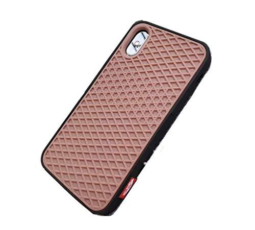 Carcasa para iPhone X Negro y Marrón