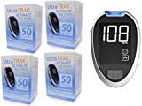 200Ct Test Strips Plus Free Ultra Trak Ultimate Meter, 4 Boxes 50 Strips Plus 1 Free Meter