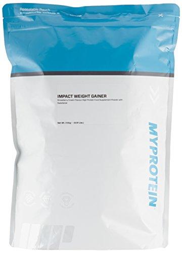 Myprotein Impact Weight Gainer Strawberry Cream, 2500 g