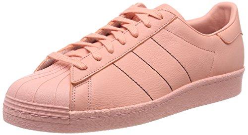 adidas Herren Superstar 80s Gymnastikschuhe, Pink (Trace Pink F17/Trace Pink F17/Trace Pink F17), 45 1/3 EU