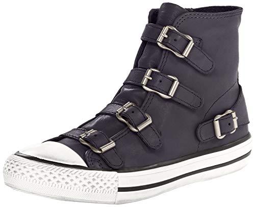 Ash Natives High Top-Trainer - Zapatillas para mujer, color negro, color Gris, talla 41 EU