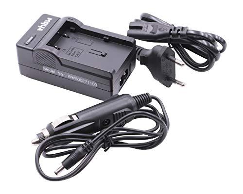 vhbw Cargador Compatible con Canon BP-2L12, BP-2L13, BP-2L14, BP-2L18, BP-2L5, NB-2L, NB-2L18, NB-2LH batería de cámara - Soporte