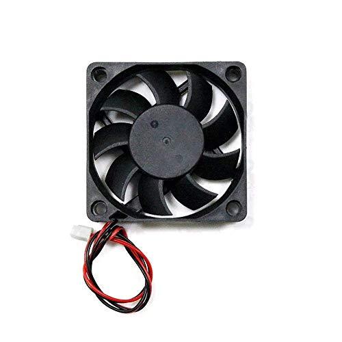 KEKEYANG Componentes de la Impresora 3D 12v 5pcs 6015 60 * 60 * 15 mm Ventilador de refrigeración con el Cable for Impresora 3D Parte Herramientas