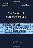 The Control of Corporate Europe (Feem Studies in Economics)
