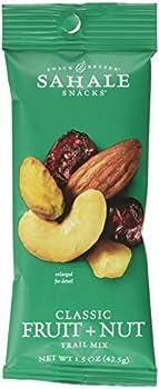 9-Pack Sahale Snacks Classic Fruit and Nut Trail Mix, 1.5 Ounces
