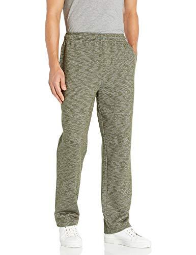 Amazon Essentials Herren Fleece athletic-sweatpants, Olive Space-Dye, L