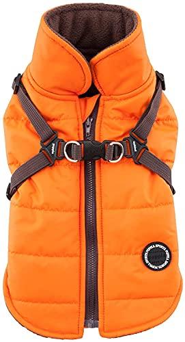Puppia Mountaineer II Winter Vest, XX-Large, Orange