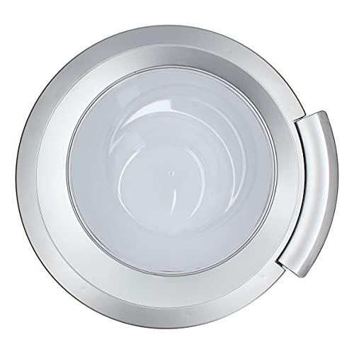 Puerta de ojo de buey completa para lavadora, puerta de lavadora, puerta de ojo de buey para lavadora compatible con Bosch, Siemens, Neff, Constructa, Balay 00704287 704287