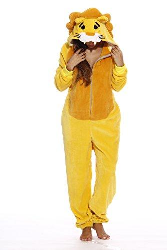 L6404-S-Lion #FollowMe Adult Onesie / Adult Pajamas