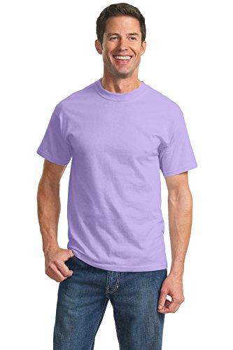 Port & Company Mens Tall Essential T-Shirt, Lavender, XXXX-Large Tall