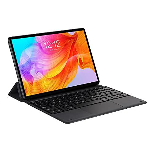 TECLAST M40SE Tastiera con Custodia Cover,Slim Pelle PU Custodia Case QWERTY Layout con Rimovibile Wireless Keyboard Tastiera Tablet PC Nero