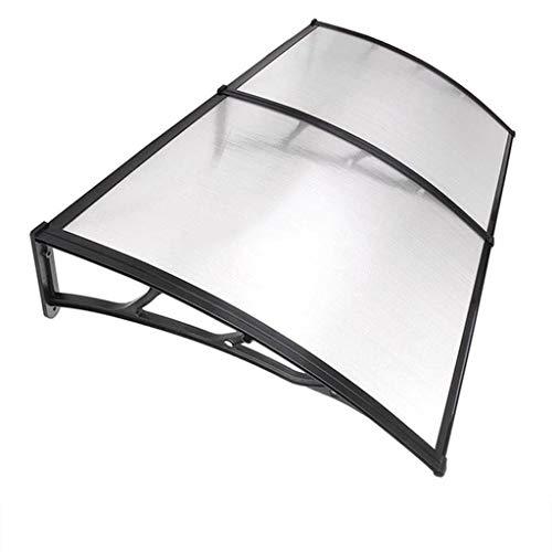 WAKTN-TUuiuifdekking buitenluifel 3 mm polycarbonaat plaat, dakbedekking, Shelter veranda ter bescherming tegen zon/regen en sneeuw, geschikt voor balkon, tuin, huisdeur
