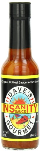 Dave#039s Original Insanity Hot Sauce 5 Ounces