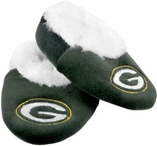 Green Bay Packers Logo Baby Bootie Slipper Medium