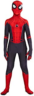 Kids Spider Man Far From Home Peter Parker Cosplay Costume Zentai Spiderman Superhero Bodysuit Suit Jumpsuits Halloween Co...