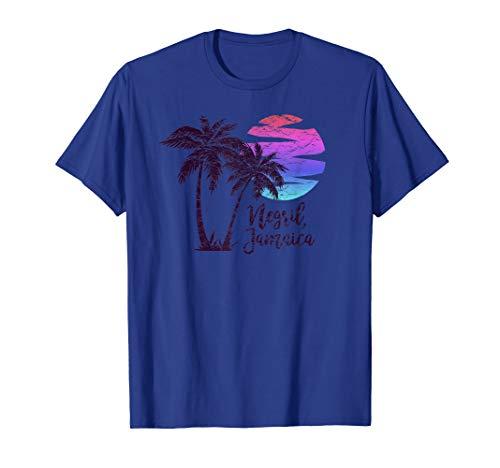 NEGRIL JAMAICA Beach Lover Gift Spring Break Cruise Vacation T-Shirt