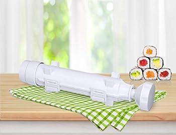 SchwartsCount Sushi Roller Kit - Sushi Maker Starter Set - Sushi Bazooka Making Kit - Sushi Rolling Kit - in a Retail Gift Box
