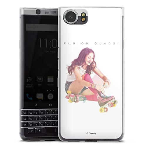 DeinDesign Silikon Hülle kompatibel mit BlackBerry KeyOne Hülle transparent Handyhülle Soy Luna Offizielles Lizenzprodukt Disney