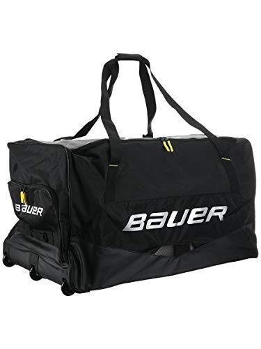 Bauer Hockey Premium Goalie Wheeled Hockey Bag, Black (40