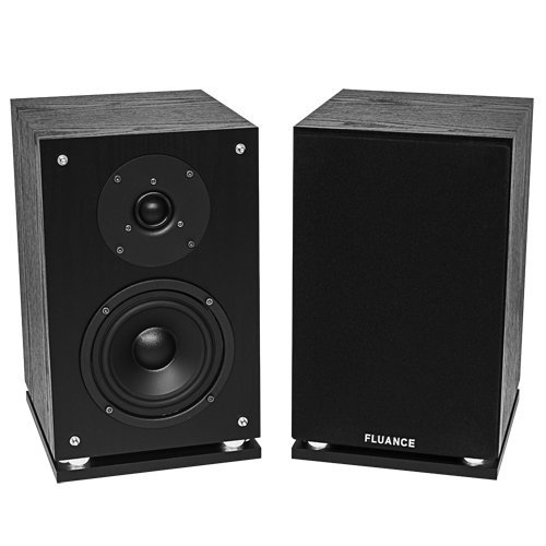 Fluance SX6-BK مكبرات صوت عالية الوضوح في