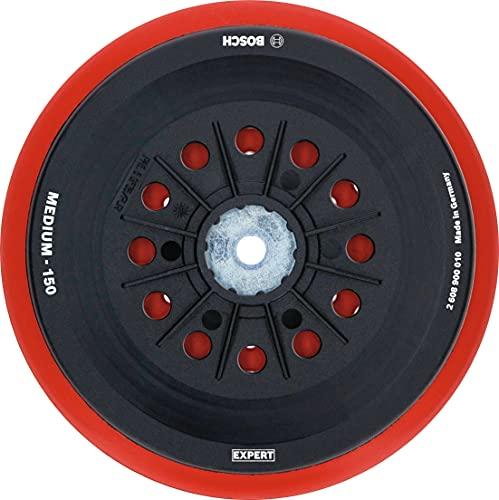 Bosch Professional 1 x Platos de soporte multiperforados Expert Multihole Bosch, Versión Medio, 150 mm, Accesorios Lijadora excéntrica