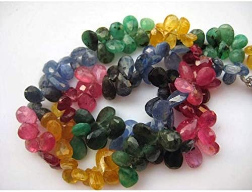 GemAbyss Beads Gemstone 1 Max Be super welcome 64% OFF Strand Multi Natural Emerald
