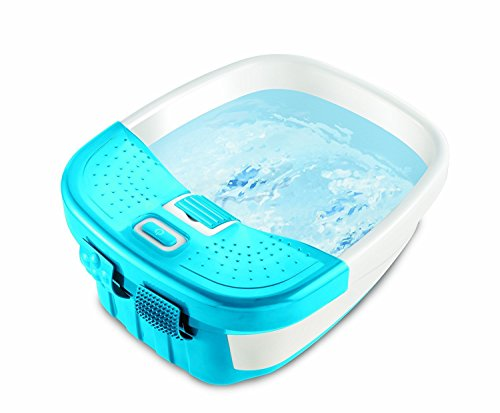 Homedics Deluxe Foot Spa and Toe Massager with Multiple Acupressure Attachments and All New Toe-Touch Controls
