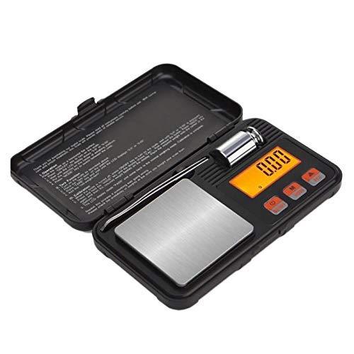 AYDQC Escala de joyería de Caja de Herramientas Altamente precisa 0.01g Portátil básica electrónica Hornear Escala de grama Escala de Cocina, 50 g fengong (Size : 50g)