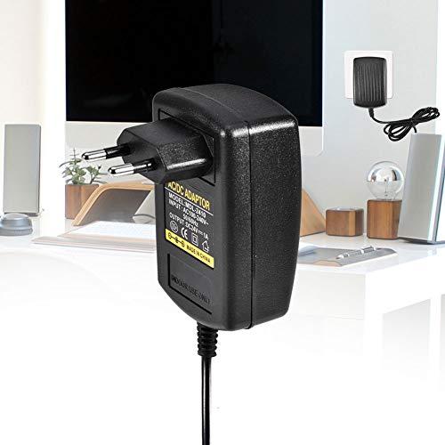 Sharainn Adaptador Universal AC100-240V a DC 24V 1A, Cargador de Pared para Fuente de alimentación, Cable Cargador 5.5 * 2.1 mm Buen Rendimiento(European Standard (100-230v))