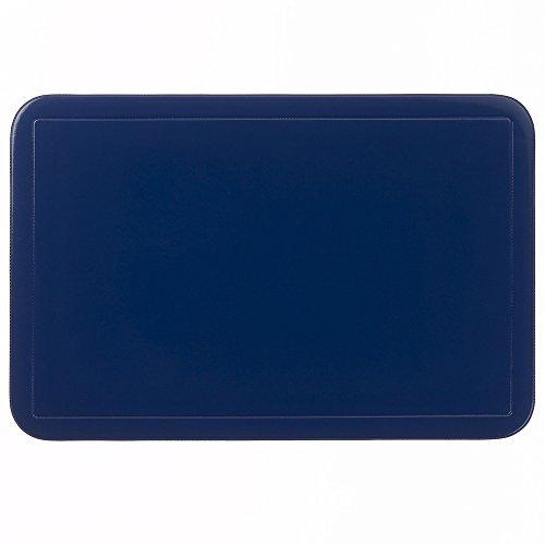 Kela 15011 Uni Set de table PVC Bleu Foncé 43,5 x 28,5 x 1 cm