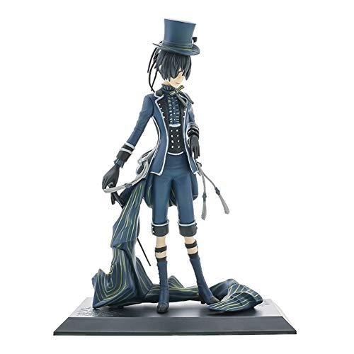 Aoliandatong 18 cm Black Butler Action Figure, Sebastian Figure Ciel Phantomhive Figure, Premium Collectible Anime Girls Action Figure