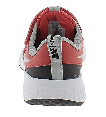 Nike Revolution 5, Zapatillas Deportivas, University Red LT Smoke Grey Black White, 39 EU