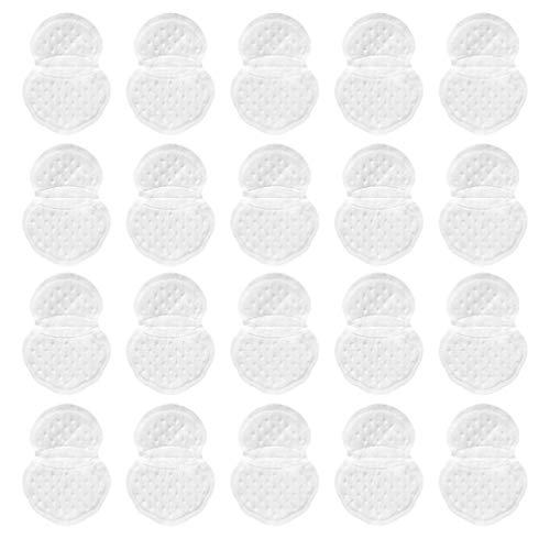 DOITOOL 20 Pegatinas de Absorción de Sudor de Axila Almohadillas de Sudor de Calidad Superior para Axilas Almohadillas de Sudor Absorbentes Desechables para Hombres Y Mujeres