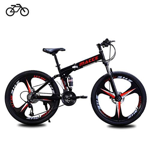 B-D Vélos Pliants Étudiant Unisexe Vélo de...