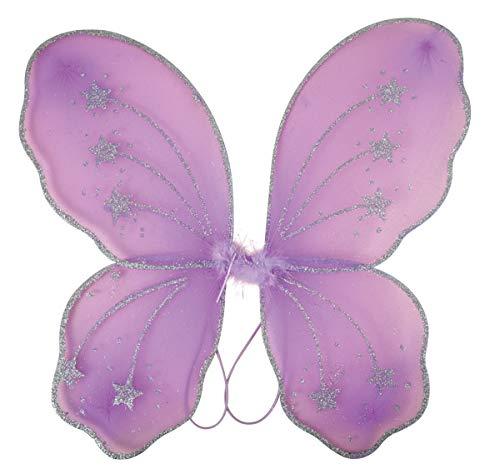 P'TIT CLOWN 10870 Ailes de Papillon - 32 x 48 cm - Violet