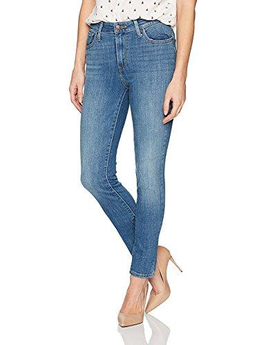 Levis-Womens-721-High-Rise-Skinny-Jeans-27W-X-32L-Sea-Gaze