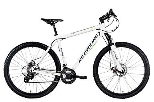 KS Cycling Mountainbike Hardtail MTB 27,5'' Heist weiß RH 46 cm