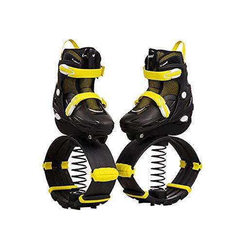 SMLJJHW Känguru-Schuhe, Springschuhe für Jugendliche und Kinder, Springen Springen Sport Stretch Schuhe, Riemenscheibe + Springschuhe, zum Tanzen/Laufen/Spielen